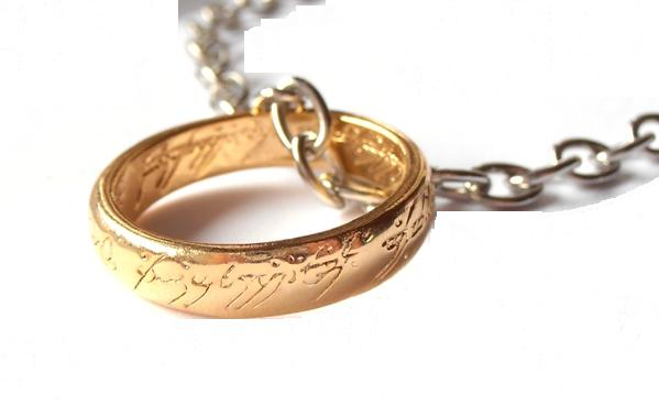 Image result for LOTR ring necklace